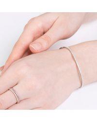 Verifine London - Pink Diamond Line Bracelet In 18ct White Gold - Lyst
