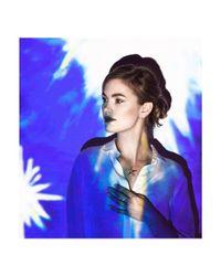 Daou Jewellery - Multicolor Spark Earrings - Champagne Diamond - Lyst