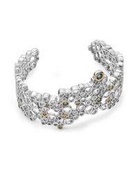 Charmian Beaton Designs - Metallic The Bubbles Bracelet - Lyst