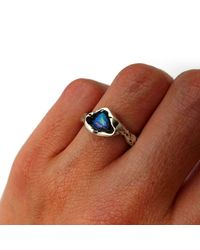 JUX Jewellery - Multicolor Crystal Opal Ring Iv - Lyst