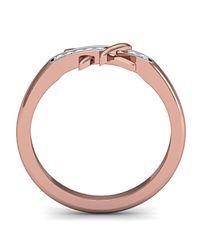 Diamoire Jewels - Metallic Elegant Diamond Ring In 18kt Rose Gold - Lyst