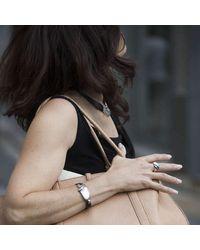 Poul Havgaard Jewelry - Black Asymmetric Silver Bracelet - Lyst