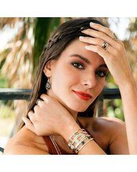 Dune Jewelry - Multicolor Triple Sandglobe Bracelet - Lyst