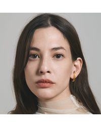 aka jewellery - Multicolor Orbit Wide Radius Lobe Earrings - Lyst