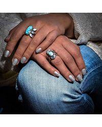 Meltdown Studio Jewelry - Blue Century Agave Ring - Lyst