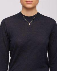 Jigsaw - Metallic Enelle Crescent Necklace - Lyst