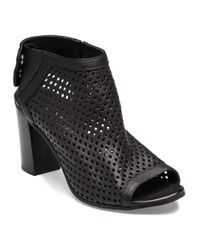 275 Central - Perforated Bootie Black Leather - Lyst