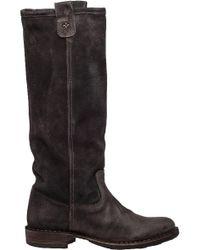 Fiorentini + Baker Brown Eternity Effie Suede Knee-High Boots