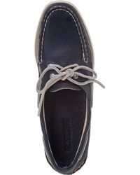 Sperry Top-Sider - Blue Authentic Original 2 Eye Navy Deerskin Leather - Lyst