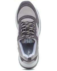 J/Slides Gray Ayla Sneaker Light Grey for men
