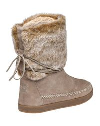 TOMS | Brown Nepal Oxford Tan Suede Boot | Lyst