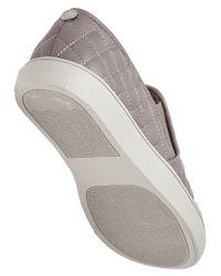 Steve Madden - Gray Ecentrcq Grey Quilted Slip-on Sneaker for Men - Lyst