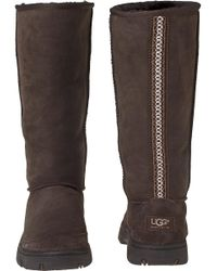 Ugg - Brown Ultimate Tall Chocolate Suede - Lyst