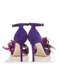 Jimmy Choo Purple Annie 100