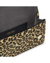 Jimmy Choo Madeline Belt Bag メタルバックル付き レオパードプリント ヘアカーフ・ベルトバッグ Multicolor