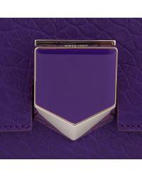 Jimmy Choo Purple Lockett Petite
