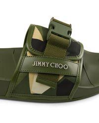 Jimmy Choo Green Rey/m for men