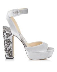 Jimmy Choo Metallic Juliet 120