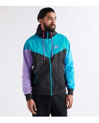 Nike Blue Sportswear Windrunner Jacket for men