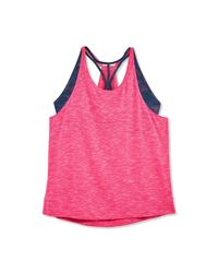 Joe Fresh - Pink Women+ Active Tank With Built-in Sports Bra - Lyst