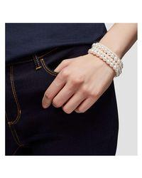 Joe Fresh - White Faux Pearl Bracelet Set - Lyst