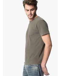 Joe's Jeans - Gray Finley Crew for Men - Lyst