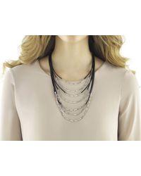 John Hardy Metallic Bib Necklace