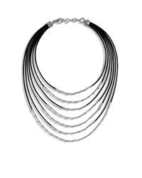 John Hardy | Metallic Bib Necklace | Lyst