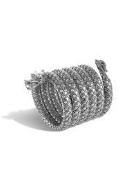 John Hardy | Metallic Naga Multiple Coil Bracelet | Lyst