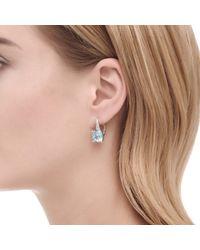 John Hardy - White Classic Chain Magic Cut Drop Earring, Silver, Gems, Diamonds - Lyst
