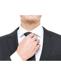 John Hardy   Metallic Classic Chain Signet Ring for Men   Lyst
