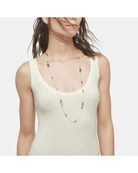 John Hardy - Multicolor Station Necklace With Smoky Quartz - Lyst
