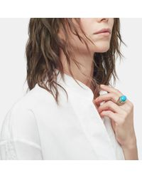 John Hardy | Blue Dome Ring With Turquoise | Lyst