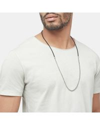 John Hardy - Black Classic Chain Necklace - Lyst