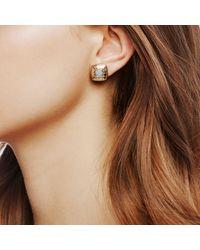 John Hardy - Multicolor Stud Earrings With Diamonds - Lyst