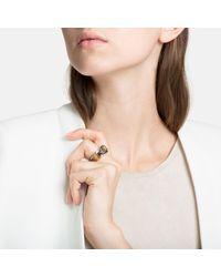 John Hardy - Metallic Bamboo Ring With Diamonds - Lyst