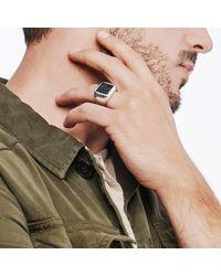 John Hardy Eagle Signet Ring With Black Onyx for men