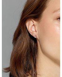 Dyrberg/Kern - Pink Thelma Small Swarovski Crystal Stud Earrings - Lyst