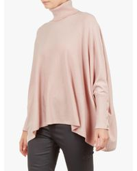 Ted Baker - Pink Rallphy Poncho - Lyst