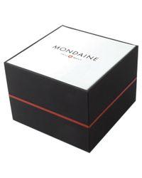 Mondaine Metallic Mh1.l2210.sm Unisex Helvetica Mesh Strap Watch
