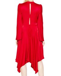 Ghost Hollie Dress Red