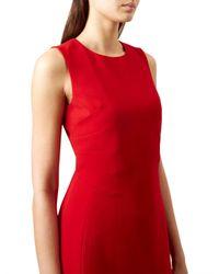 Hobbs Red Elena Dress