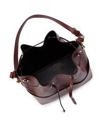 Miss Selfridge Black Unlined Bucket Bag