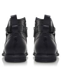 UGG - Black Demi Croc Ankle Boots - Lyst