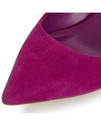 Dune Multicolor Abbigail Stiletto Heeled Court Shoes