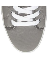 John Lewis Gray Sela Lace Up Trainers for men