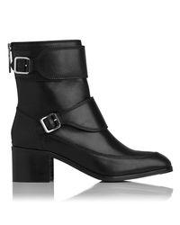 L.K.Bennett Black Hettie Ankle Boot