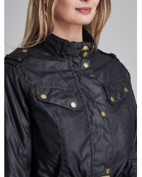 Barbour Black Goldwing Waxed Jacket