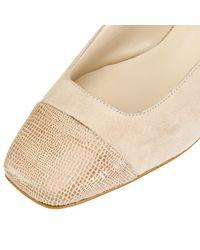 John Lewis Natural A Casa Slingback Court Shoes