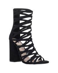 Carvela Kurt Geiger Black Goddness Ankle Boots